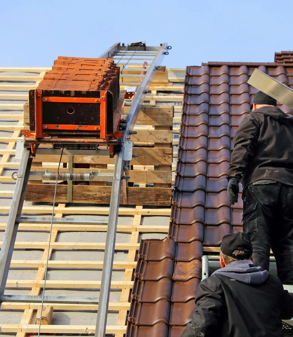 Rénovation d'une toiture de maison