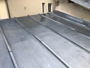 Réalisation d'une toiture en Zinc en Essonne