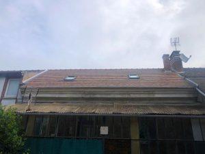 Rénovation complète d'une toiture de maison en Essonne