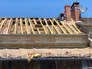 Rénovation d'une charpente en Essonne